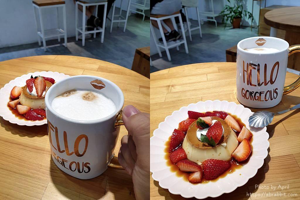 台中下午茶|Crepe Cocoya 可麗餅/蛋糕/咖啡-手工布丁也非常好吃呢!