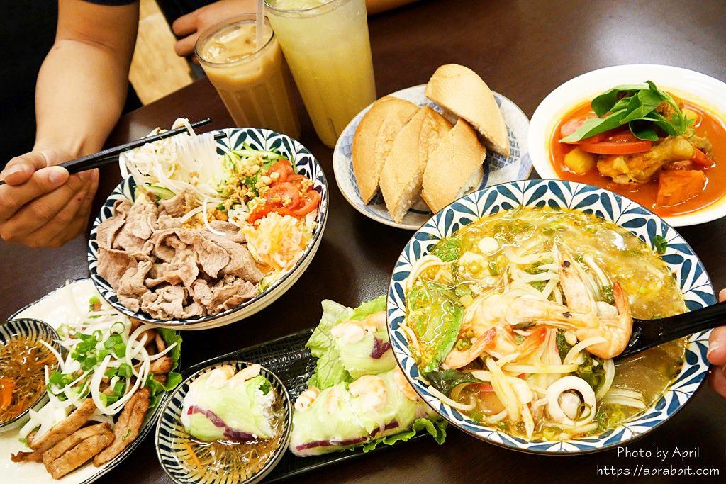 台中大里美食|越好吃越南料理-人氣超旺、餐點好吃