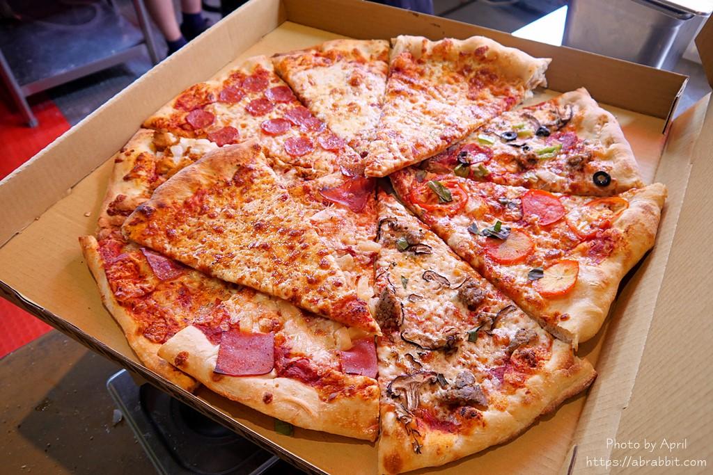 台中披薩推薦|怪獸披薩-最便宜20吋只要350元!