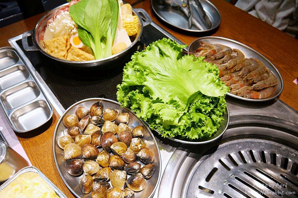 蛤蠣 生菜包肉