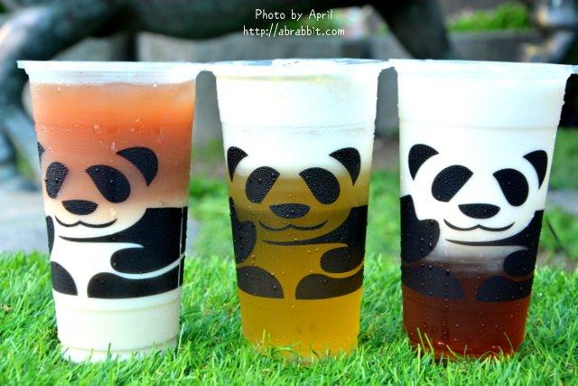 台中飲料|三軒茶屋一中店-萌死人的熊貓杯杯