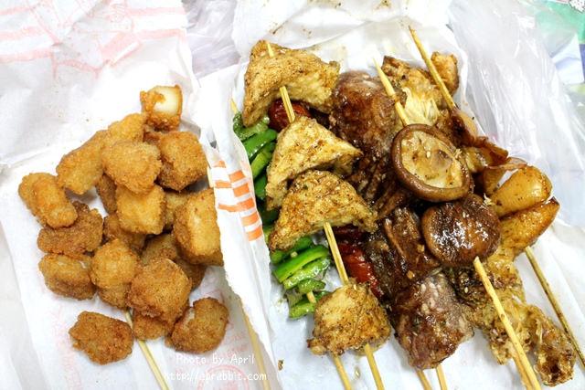 台中串燒宵夜|神州窯烤(興安店)–怎麼辦,忍不住宵夜時段買一份來吃啊!@興安路 北屯區