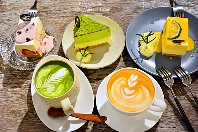 台中甜點|ALLO Friend–巷弄咖啡廳,來一份療癒的乳酪蛋糕吧!@西區 華美街
