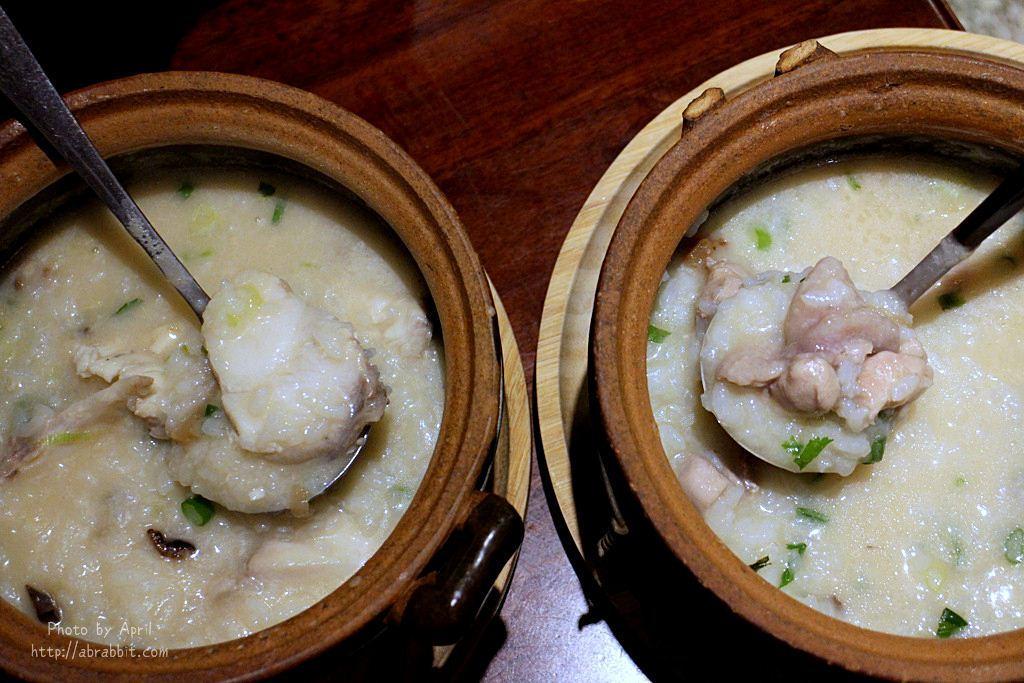 台中粥品|十二月粥品茶飲私房菜-宵夜,在老宅裡吃碗粥吧!