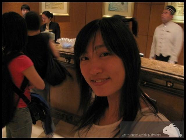 小兔兔在上海。第一天之飯店篇