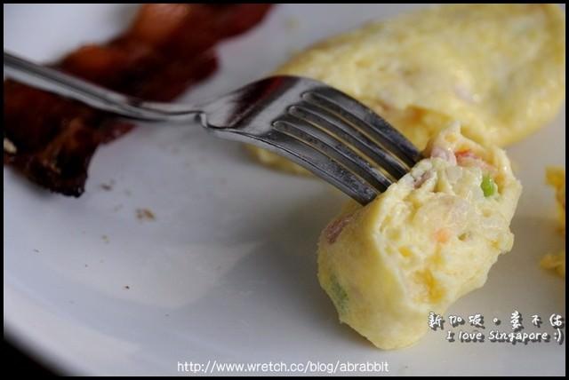 新加坡爱不休。饭店食物篇-早餐1(Swissotel The Stamfod 瑞士史丹佛)
