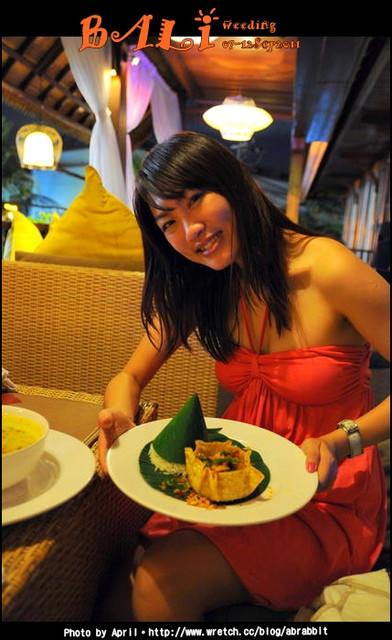 初遇Bali,Spa、Villa與海外婚禮。Gabah Restaurant