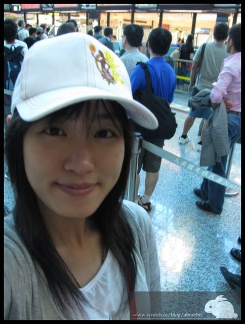 小兔兔在上海。第一天之機場篇
